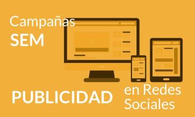 Campañas SEM y Publicidad en Redes Sociales