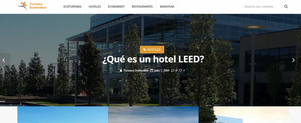 blog turismo sostenible