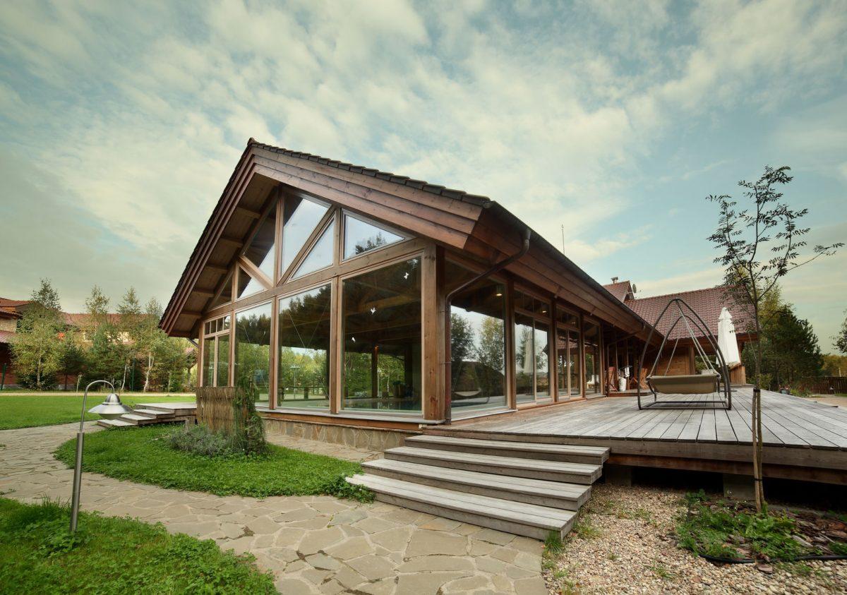 Casas de madera vivienda