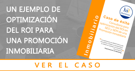 Caso de éxito del sector inmobiliario optimización marketing