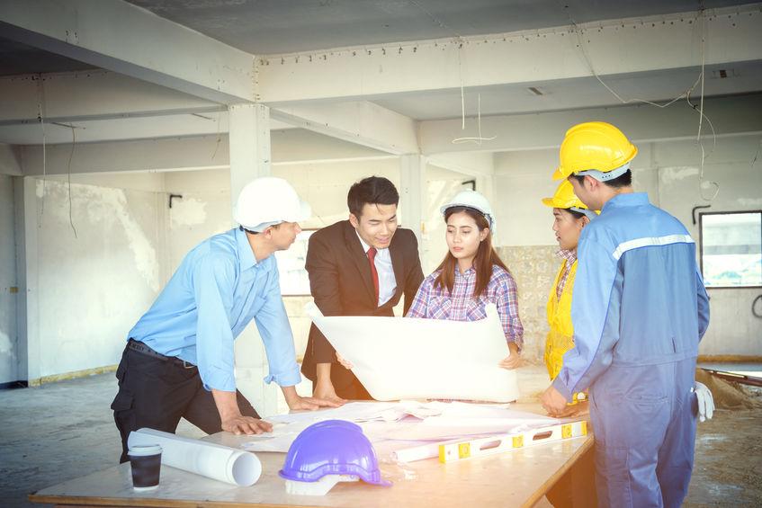FOTO: Marketing Construcción - Reunión de arquitectos y constructores